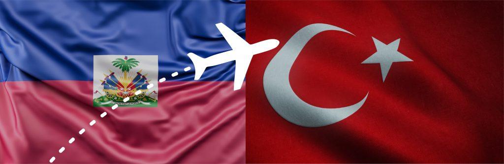 Faire sa demande de E-visa pour la Turquie avec un passeport Haïtien